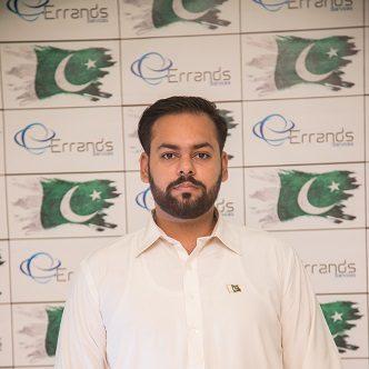 QA Manager Errands, Naveed Zafar, Errands Services Staff